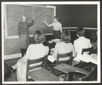 Language Classroom, Westbrook Junior College, 1960s by Wendell White