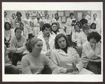 Classroom, Blewett Science Center, Westbrook College, mid 1970s by Ellis Herwig
