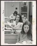 Business Classroom, Proctor Hall, Westbrook College, 1970s