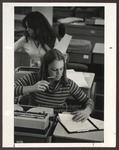Typing Classroom, Proctor Hall, Westbrook College, 1970s by Ellis Herwig