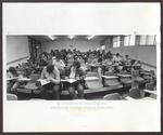 Blewett 6 Classroom, Blewett Science Center, Westbrook College, mid 1970s