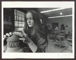 Pottery Class, Alumni Hall, 1970s