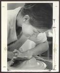 Pottery Classroom, Alumni Hall, 1970s by Ellis Herwig