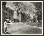 Goddard Hall and Hersey Hall, Westbrook Junior College, 1956 by William M. Rittase