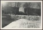 Goddard Hall, Hersey Hall, Dining Room, The Green, Winter. ca.1950s
