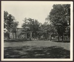 Goddard Hall, The Annex, Hersey Hall, The Green. Westbrook Junior College. ca.1940s, 1950s