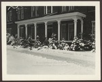 Hersey Hall in the Snow, Westbrook Junior College, Circa 1950