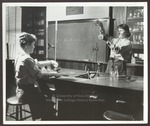 Chemistry Laboratory, Alumni Hall, Westbrook Junior College, 1960