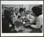 Dental Hygiene Laboratory, Coleman Bldg., Westbrook College, 1970s by Ellis Herwig Photography