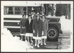 Westbrook Junior College Nursing Students Travel to Clinic, Maine Medical Center, 1966-67