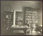 Deborah Morton Shelves Books in the Library, Hersey Hall, Westbrook Junior College, 1930