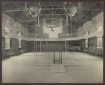 McArthur Gymnasium Interior, Westbrook Seminary, 1907