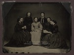Westbrook Seminary Students, Tintype, ca. 1855