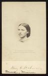 Mary E. Stockman, Westbrook Seminary Student, 1860s by B F. Smith