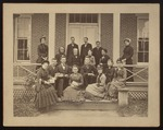 Senior Class and Teachers, Westbrook Seminary, June 1880