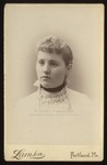 Alice Louise Cox, Westbrook Seminary, Class of 1889 by Lamson