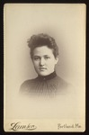 Female Student, Westbrook Seminary, 1880s by Lamson