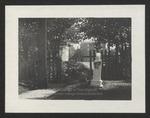 Cemetery Gate, Westbrook Seminary, 1897
