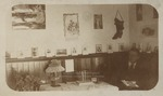 Fred Cousens in Dormitory Room, Westbrook Seminary, ca.1897