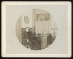 Male Student in Dormitory Room, Westbrook Seminary, 1897