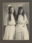 Two Female Students, Westbrook Seminary, 1890s - 1900s