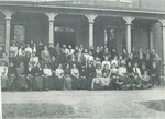Students and Faculty, Westbrook Seminary, Spring Term 1900