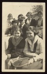 Carolyn Clay Havner and Ann Leavitt Hall, Westbrook Seminary, 1919-1920