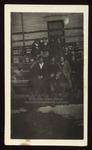 Westbrook Seminary Girls Sitting on Bleachers, 1919-1920