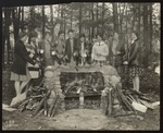 Around the Fireplace, Westbrook Seminary and Junior College, 1928