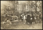 Picnic at the Fireplace, Westbrook Seminary and Junior College, 1928