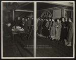 Registration Day, Westbrook Junior College, 1930s