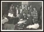 Registration Day, Westbrook Junior College, 1930s