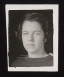 Student Portrait, Westbrook Junior College, ca.1934
