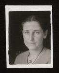 Student Portrait, Westbrook Junior College, ca.1934