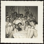 Pajama Party, Hersey Hall, Westbrook Junior College, 1949