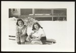 Shirley Dean and Classmate, Westbrook Junior College, Class of 1941