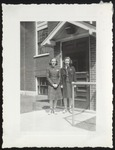 Isabelle Gunn and Marie Gately, Westbrook Junior College, Class of 1941
