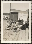 Nine Westbrook Junior College Students on Boat Trip, Class of 1948