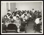 Westbrook Junior College Students in the Dining Hall, Late 1950s by Wendell White Studio