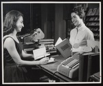 Work-Study at the Bookstore, Westbrook Junior College, Late-1950s