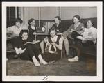Rainy Sunday Radio Listening, Westbrook Junior College, 1957