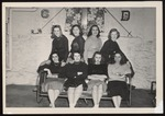 Freshmen Class Officers, Westbrook Junior College, Class of 1950 by Jackson White Studio