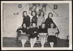 Johnson House Freshmen, Westbrook Junior College, Class of 1950 by Jackson White Studio