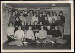 Deering House Freshmen, Westbrook Junior College, Class of 1950 by Jackson White Studio
