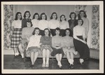The Lodge Freshmen, Westbrook Junior College, Class of 1950 by Jackson White Studio
