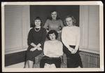 Seventeen House Freshmen, Westbrook Junior College, Class of 1950 by Jackson White Studio