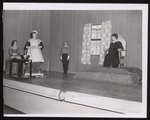 Masque and Candle Production, Westbrook Junior College, 1957