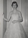 Student in a Strapless Evening Gown, Westbrook Junior College, 1957