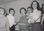 Five Foreground Students, Westbrook Junior College, 1957