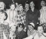 Twelve Students with Cigars, Westbrook Junior College, 1957